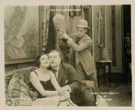 Oh Doctor lobby card al and gal