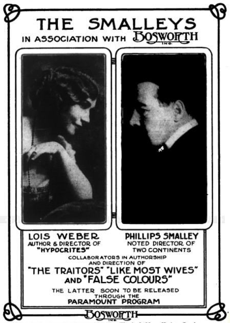 Lois Weber smalleys ad variety Nov '14