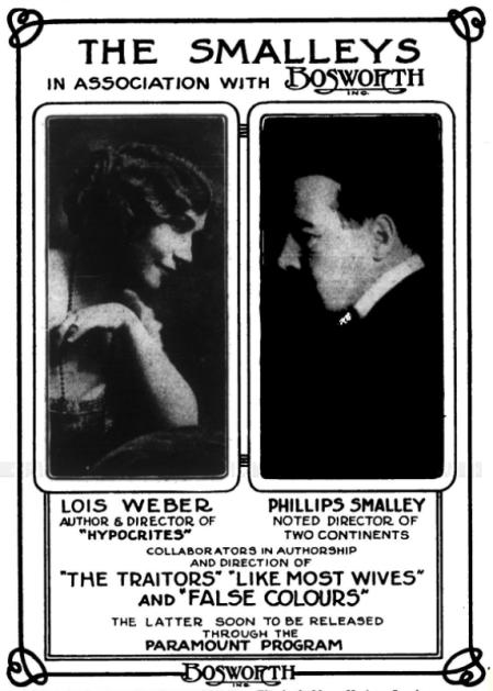 Lois Weber smalleys ad variety Nov '14