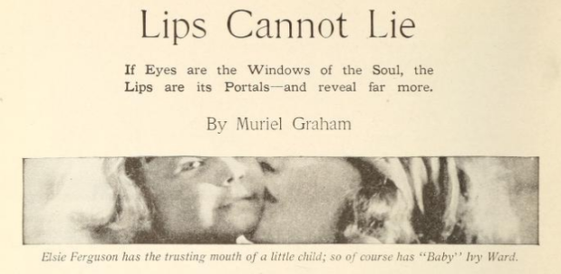 Lips cannot lie picplay mag Sept '18