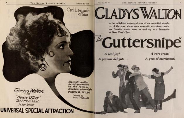 Gladys Walton mov pic weekly Jan 21 '22