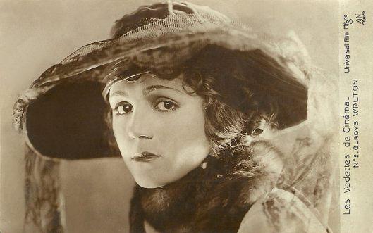 Gladys Walton postcard