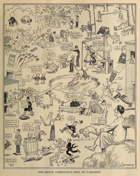 FilmFun Feb '19 cartoon paradise