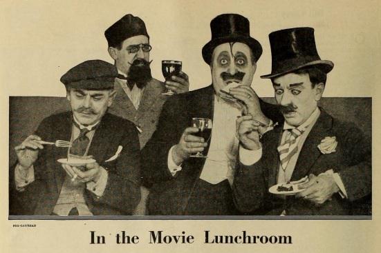 FilmFun Feb '19 movie lunchroom