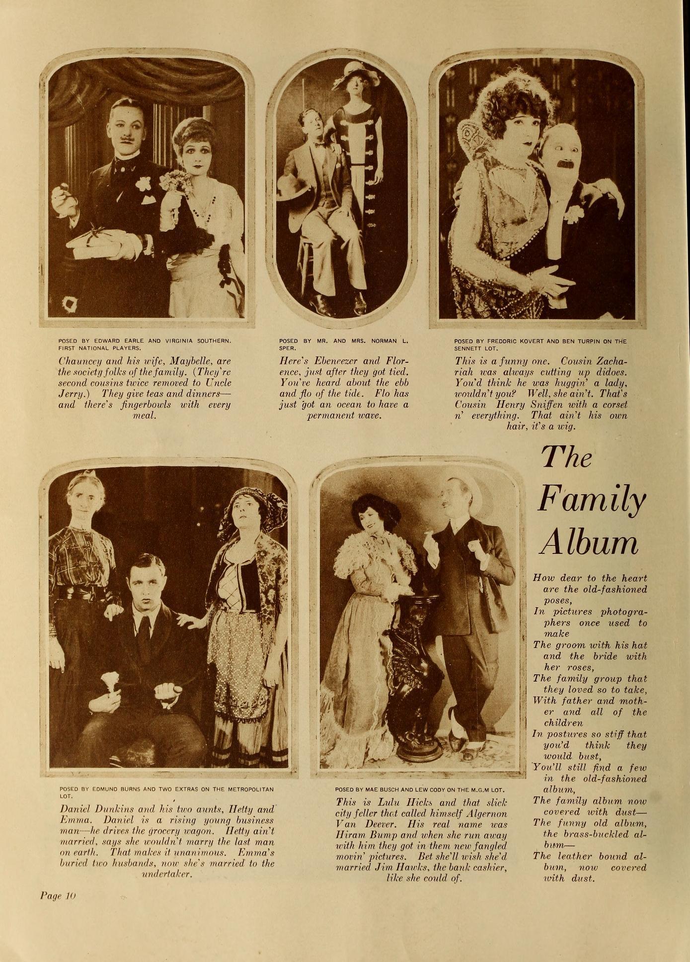 Family album FilmFun June '26 1