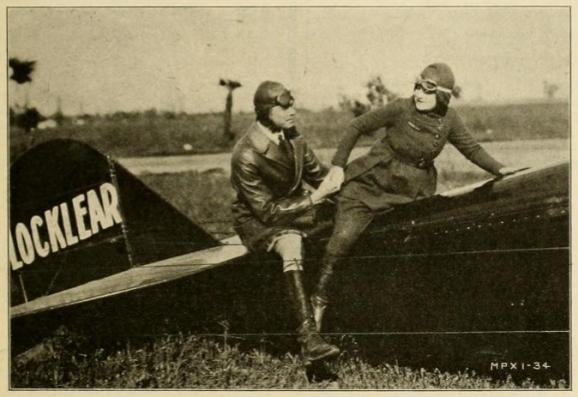 Ormer with Viola plane CineMundial Sept '20