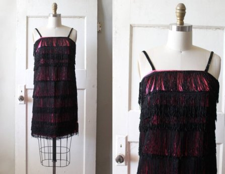 1960s flapper dress