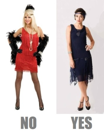 Flapper do and dont