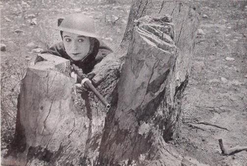 Harry soldier man crouching