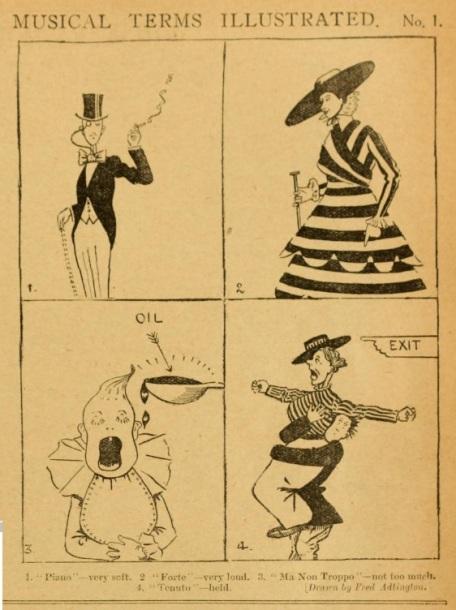 cartoon musical illustrated picgoer nov 27 '15