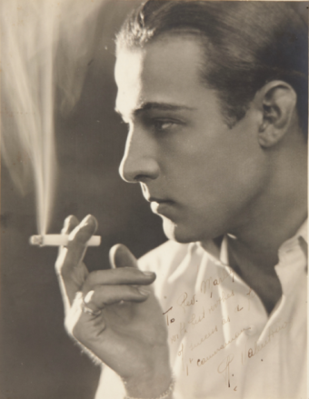 Image result for rudolph valentino portrait