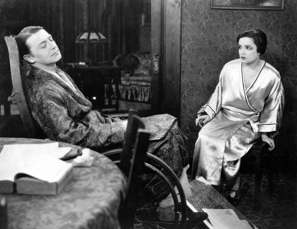 The Home Maker (1925) Directed by King Baggot Shown: Clive Brook, Alice Joyce