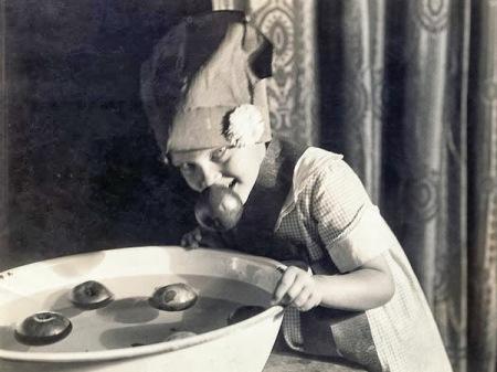 "Image result for bobbing for apples 1900s"""