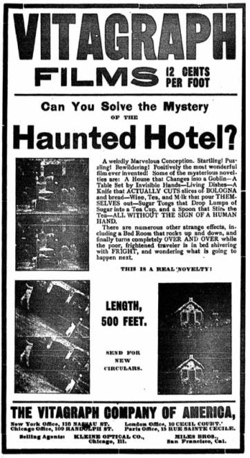Haunted Hotel ad ny clipper Mar 2 '07