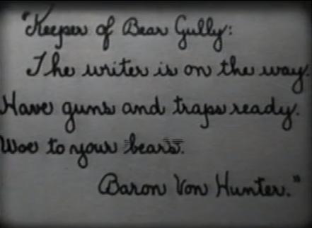 screenshot A Bear Affair woe to