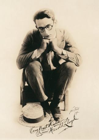 Harold portrait seated