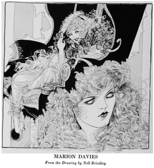 Marion Davies drawning WhosWho 1920