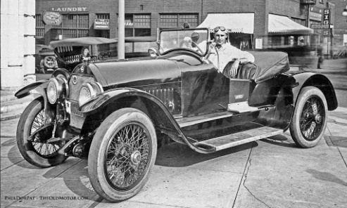Wallace Reid stutz bearcat roadster