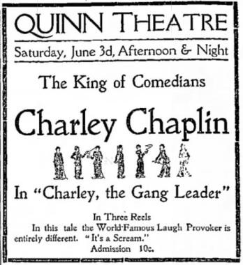 Charley Gang ad The Park Record UT Jun 2 '16