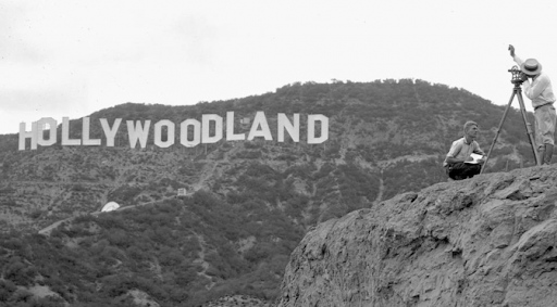 Hollywood sign 1920s