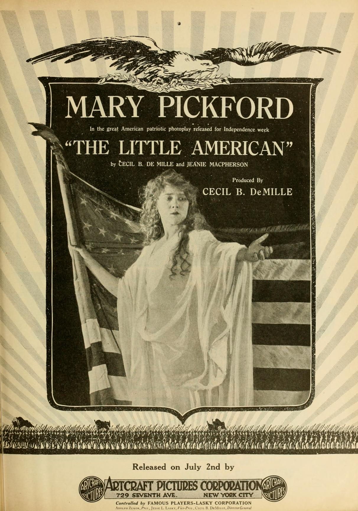 Mary ad TheLittleAmerican movpicworld '17