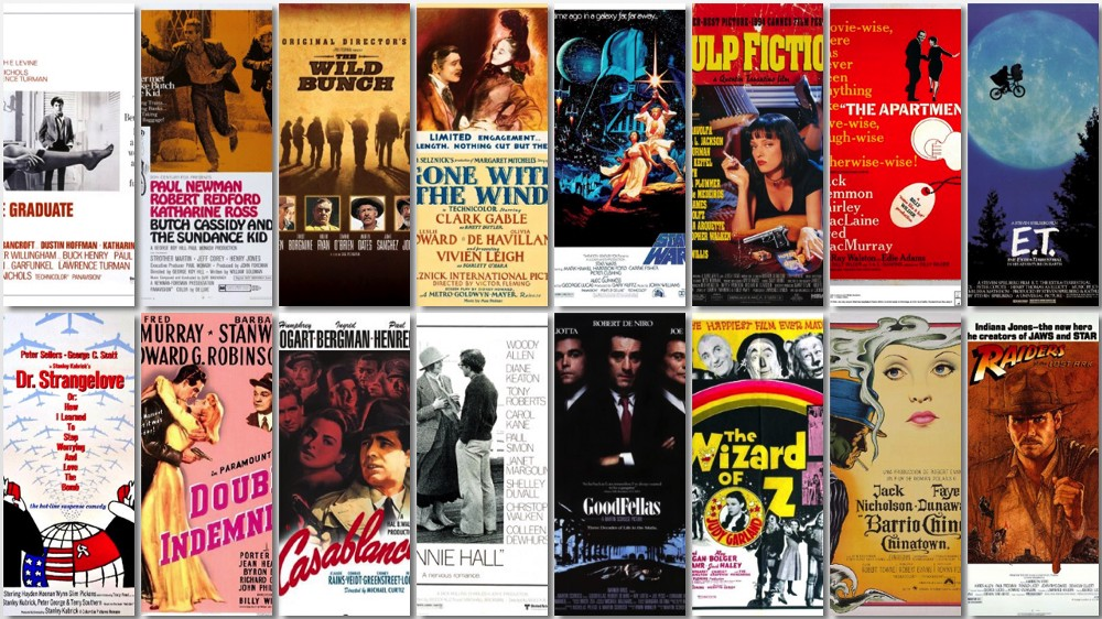 The greatest films of all time- a list compiled from multiple sources –  OWEN TEMPLE